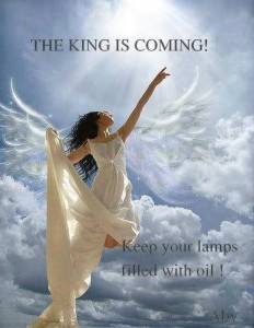king is coming - oil in lamps