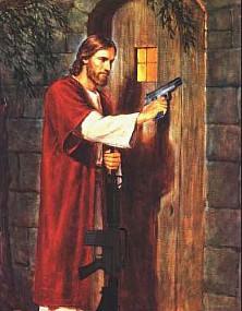 JesusGunDoor