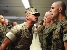 marine drill sargent