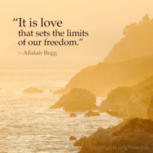 love limits its freedom