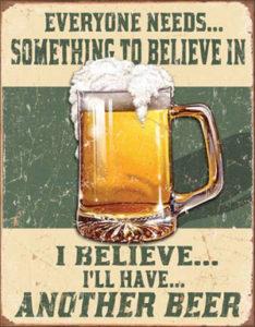 believe another beer