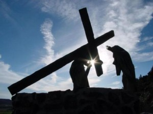 Take up your cross and follow Me.