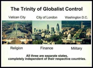 global control Vatican City London & Washington