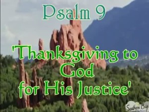 thanks to god for justice