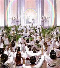 heaven throne singing
