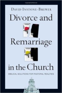 DIVORCE AND REMARRIAGE SOLUTIONS DAVID INSTONE BREWER