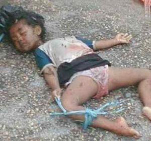 murdered child