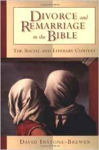 DIVORCE & REMARRIAGE SOCIAL & LITERARY CONTEXT - DAVID INSTONE-BREWER