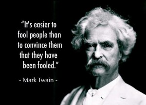 fool people mark twain
