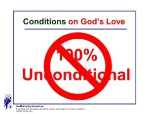 LOVE NOT 100% UNCONDITIONAL
