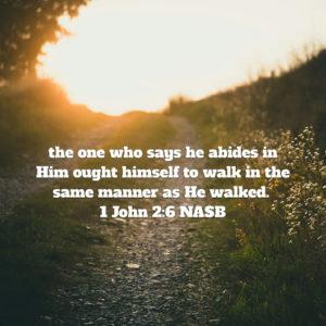 WALK LIKE JESUS IN ALL WAYS [WALKING WORTHY OF CHRIST DAILY 12-18]