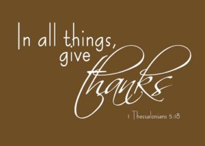 THANKSGIVING AND GRATITUDE! [MONDAY MANNA 171]